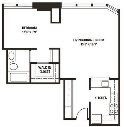 1 Bedroom, Gold Coast Rental in Chicago, IL for $1,930 - Photo 2