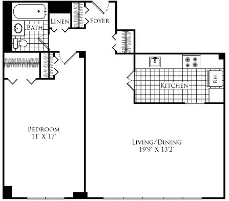 1 Bedroom, Neighborhood Nine Rental in Boston, MA for $2,425 - Photo 1