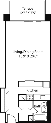 Studio, West End Rental in Boston, MA for $2,515 - Photo 2