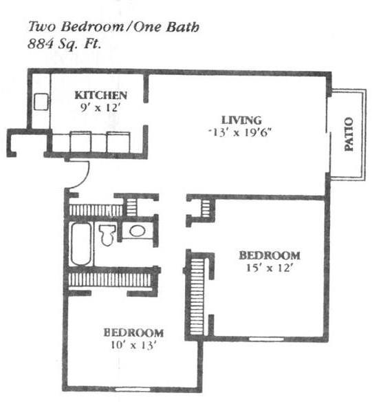 2 Bedrooms, Grandview Rental in Kansas City, MO-KS for $570 - Photo 1