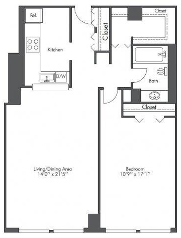1 Bedroom, West Loop Rental in Chicago, IL for $1,835 - Photo 2