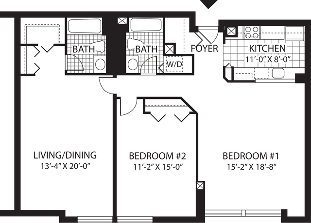 2 Bedrooms, Malden Center Rental in Boston, MA for $2,710 - Photo 1