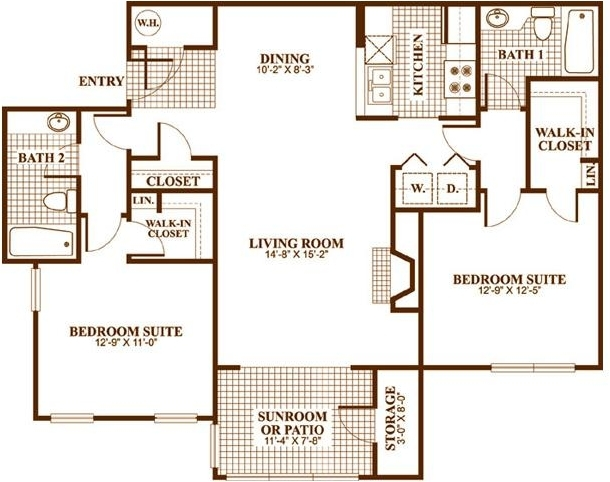 1 Bedroom, Sandy Springs Rental in Atlanta, GA for $805 - Photo 1