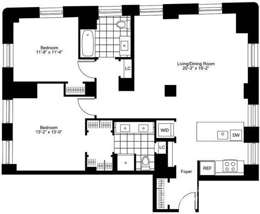 2 Bedrooms, Bay Village Rental in Boston, MA for $6,735 - Photo 2