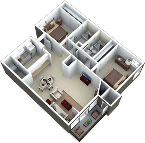 2 Bedrooms, Wilsonville Rental in Portland, OR for $1,254 - Photo 2