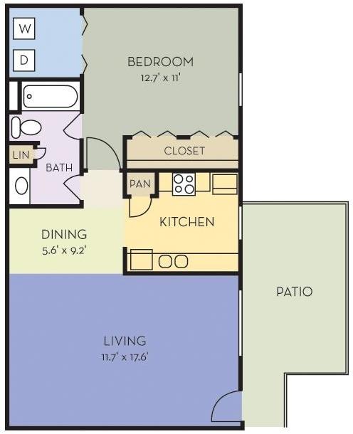 1 Bedroom, Webster, City Rental in Houston for $749 - Photo 1