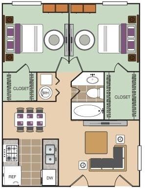 2 Bedrooms, Arlington Rental in Dallas for $1,010 - Photo 1