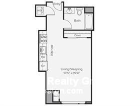 Studio, Prudential - St. Botolph Rental in Boston, MA for $3,110 - Photo 2