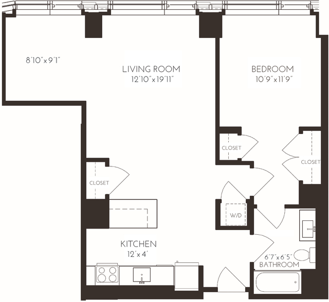1 Bedroom, Seaport District Rental in Boston, MA for $4,476 - Photo 2