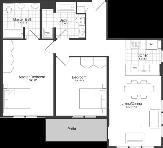 2 Bedrooms, Neighborhood Nine Rental in Boston, MA for $2,950 - Photo 2