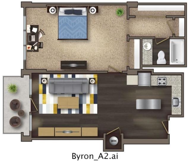 1 Bedroom, SoNo Rental in Atlanta, GA for $1,445 - Photo 1