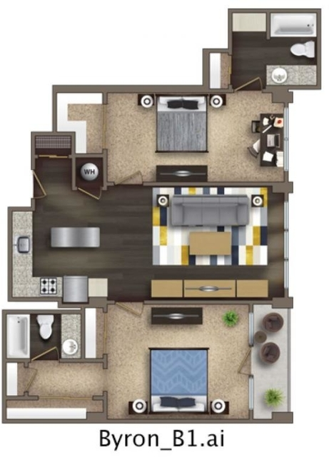 1 Bedroom, SoNo Rental in Atlanta, GA for $1,445 - Photo 2