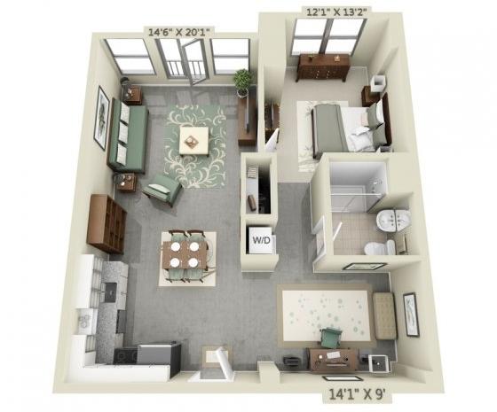 1 Bedroom, Medford Street - The Neck Rental in Boston, MA for $2,739 - Photo 1