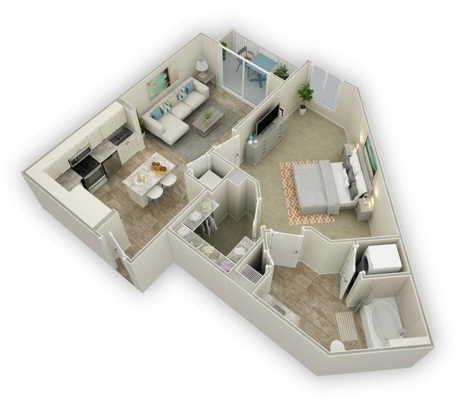 1 Bedroom, Harbordale Rental in Miami, FL for $2,120 - Photo 1