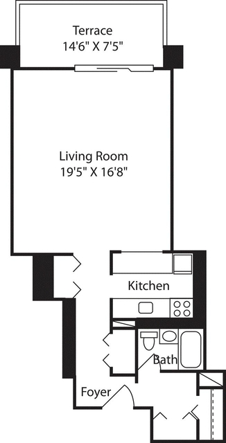 Studio, West End Rental in Boston, MA for $2,490 - Photo 1