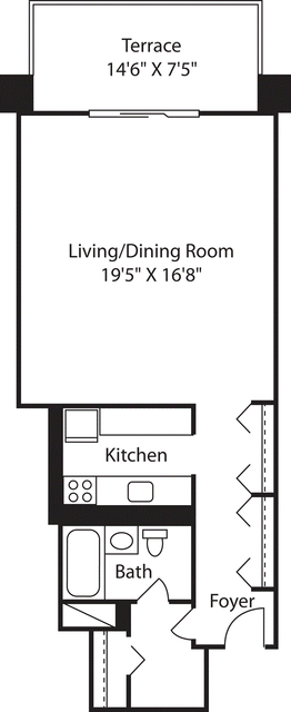 Studio, West End Rental in Boston, MA for $2,340 - Photo 1