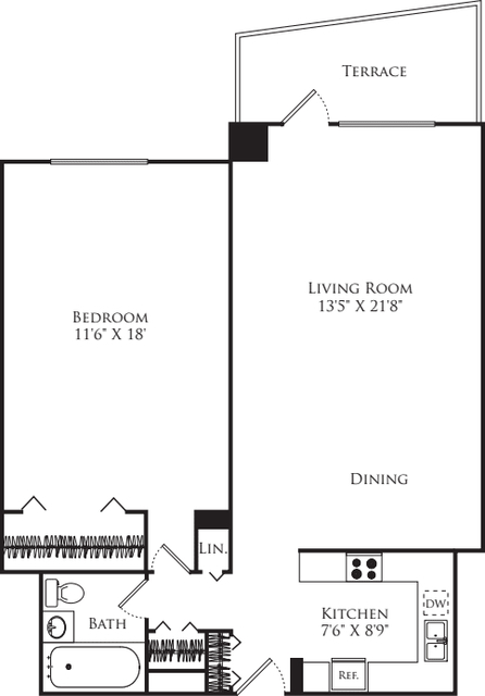 1 Bedroom, Mission Hill Rental in Boston, MA for $2,505 - Photo 2