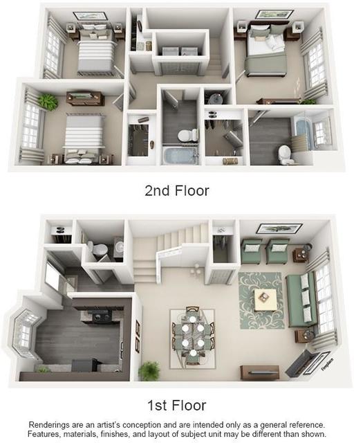 3 Bedrooms, Wembley Hall Rental in Atlanta, GA for $1,875 - Photo 1