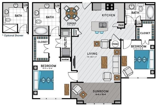 1 Bedroom, Sandy Springs Rental in Atlanta, GA for $1,465 - Photo 2