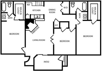 3 Bedrooms, Pasadena Rental in Houston for $1,350 - Photo 1