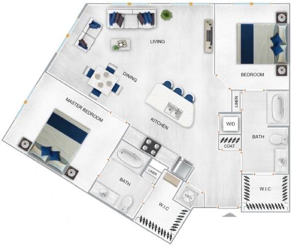 2 Bedrooms, Sandy Springs Rental in Atlanta, GA for $1,615 - Photo 1