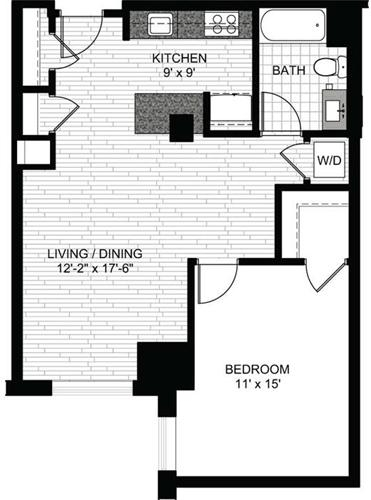 1 Bedroom, Downtown Boston Rental in Boston, MA for $2,775 - Photo 1