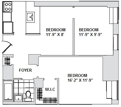 1 Bedroom, Financial District Rental in NYC for $2,295 - Photo 1
