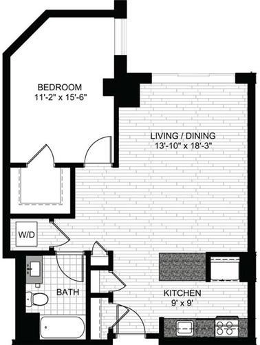 1 Bedroom, Downtown Boston Rental in Boston, MA for $2,906 - Photo 1