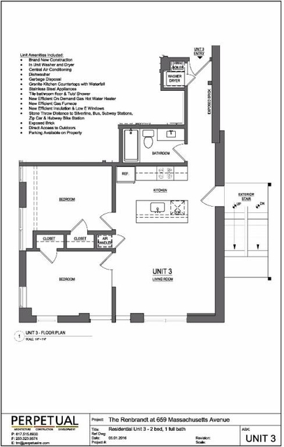 2 Bedrooms, Lower Roxbury Rental in Boston, MA for $3,250 - Photo 2
