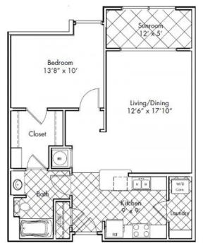 1 Bedroom, Home Park Rental in Atlanta, GA for $1,250 - Photo 1
