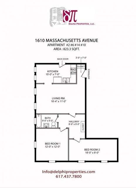 2 Bedrooms, Neighborhood Nine Rental in Boston, MA for $2,900 - Photo 1