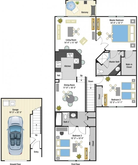 3 Bedrooms, Tiffany Lakes Rental in Miami, FL for $2,249 - Photo 1