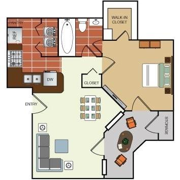 1 Bedroom, Lake Highlands Rental in Dallas for $769 - Photo 1