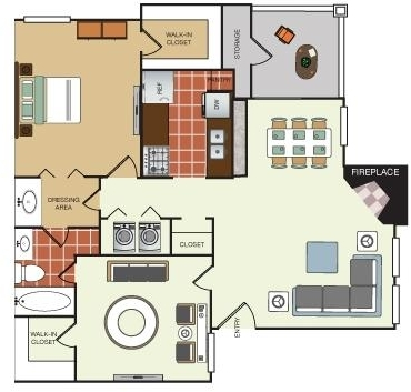 2 Bedrooms, Lake Highlands Rental in Dallas for $998 - Photo 1