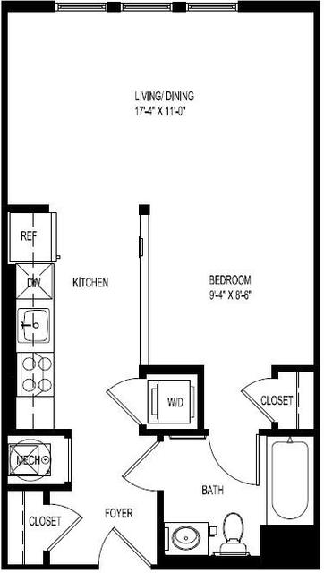 Studio, Central Maverick Square - Paris Street Rental in Boston, MA for $2,035 - Photo 2