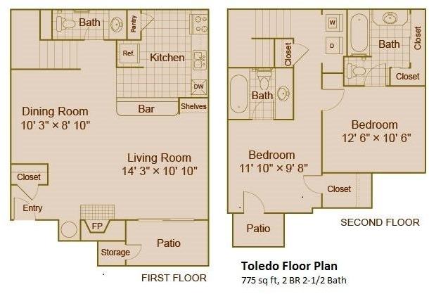 2 Bedrooms, Fielder Crossing Condominiums Rental in Dallas for $988 - Photo 1