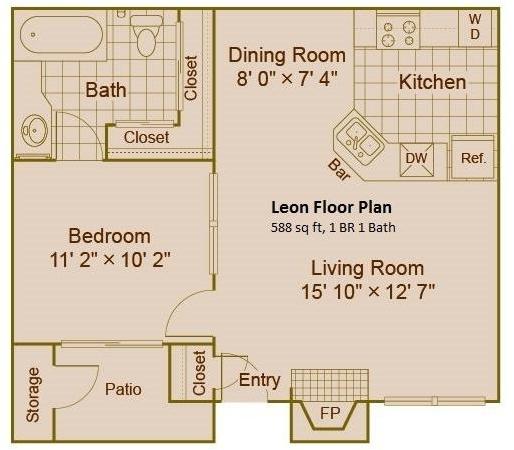 1 Bedroom, Fielder Crossing Condominiums Rental in Dallas for $795 - Photo 1