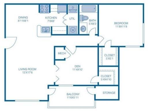 2 Bedrooms, Sterling Village Rental in Miami, FL for $1,515 - Photo 1
