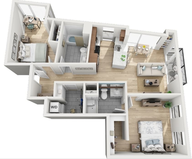 2 Bedrooms, North Allston Rental in Boston, MA for $4,018 - Photo 1