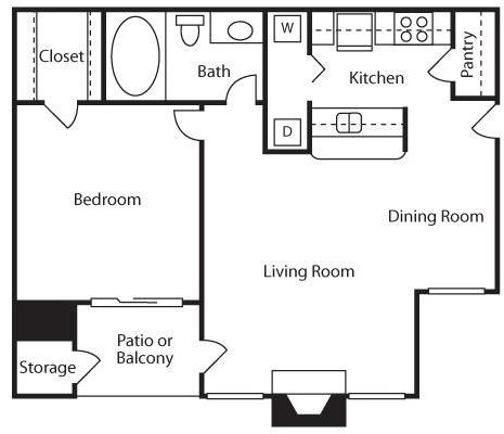2 Bedrooms, Westpark Estates Rental in Dallas for $925 - Photo 1