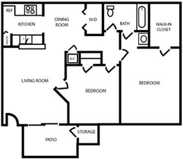 2 Bedrooms, Pasadena Rental in Houston for $910 - Photo 1