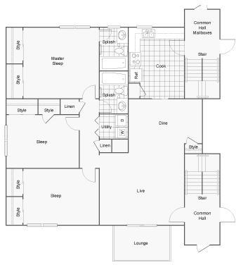 3 Bedrooms, Tucker Rental in Atlanta, GA for $1,199 - Photo 1