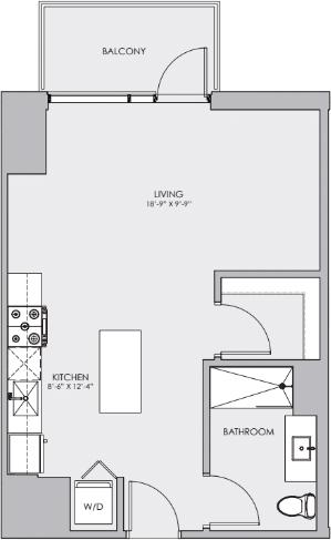 Studio, Roscoe Village Rental in Chicago, IL for $1,900 - Photo 2