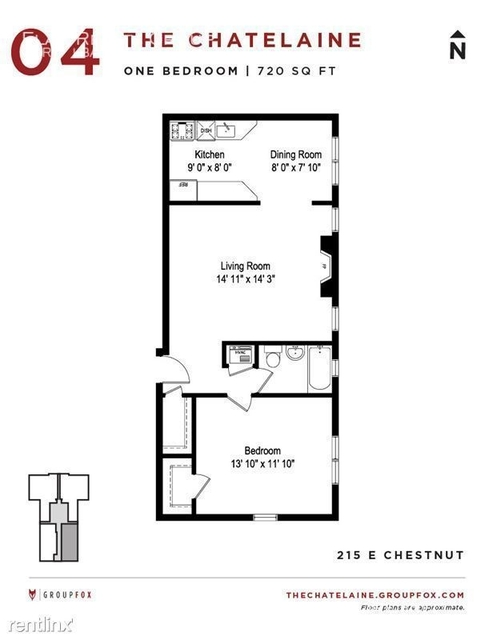 1 Bedroom, Gold Coast Rental in Chicago, IL for $2,020 - Photo 2