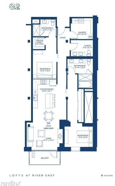 2 Bedrooms, Streeterville Rental in Chicago, IL for $4,585 - Photo 1