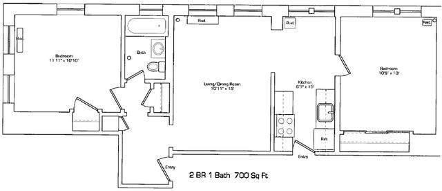 1 Bedroom, St. Elizabeth's Rental in Boston, MA for $1,750 - Photo 2
