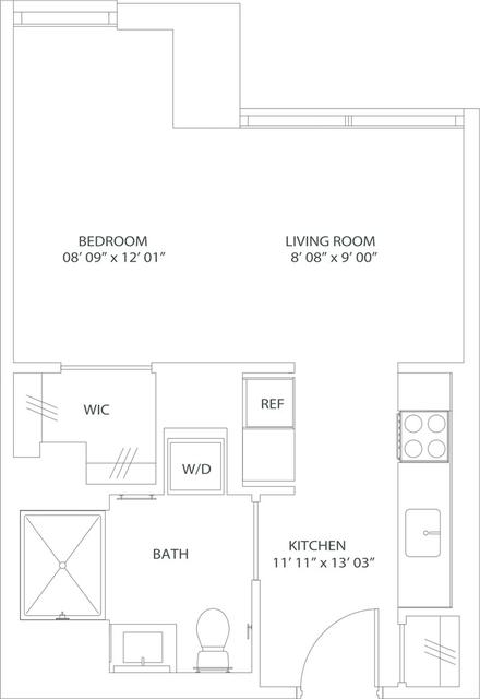 Studio, West Fens Rental in Boston, MA for $2,795 - Photo 2