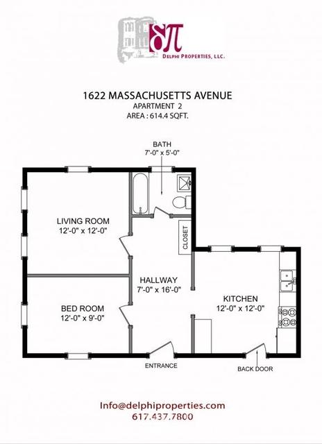 1 Bedroom, Neighborhood Nine Rental in Boston, MA for $2,175 - Photo 1