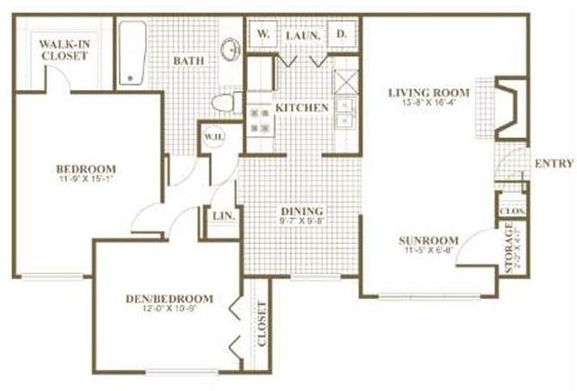 1 Bedroom, Sandy Springs Rental in Atlanta, GA for $1,000 - Photo 1