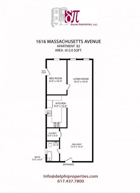 1 Bedroom, Neighborhood Nine Rental in Boston, MA for $2,125 - Photo 1